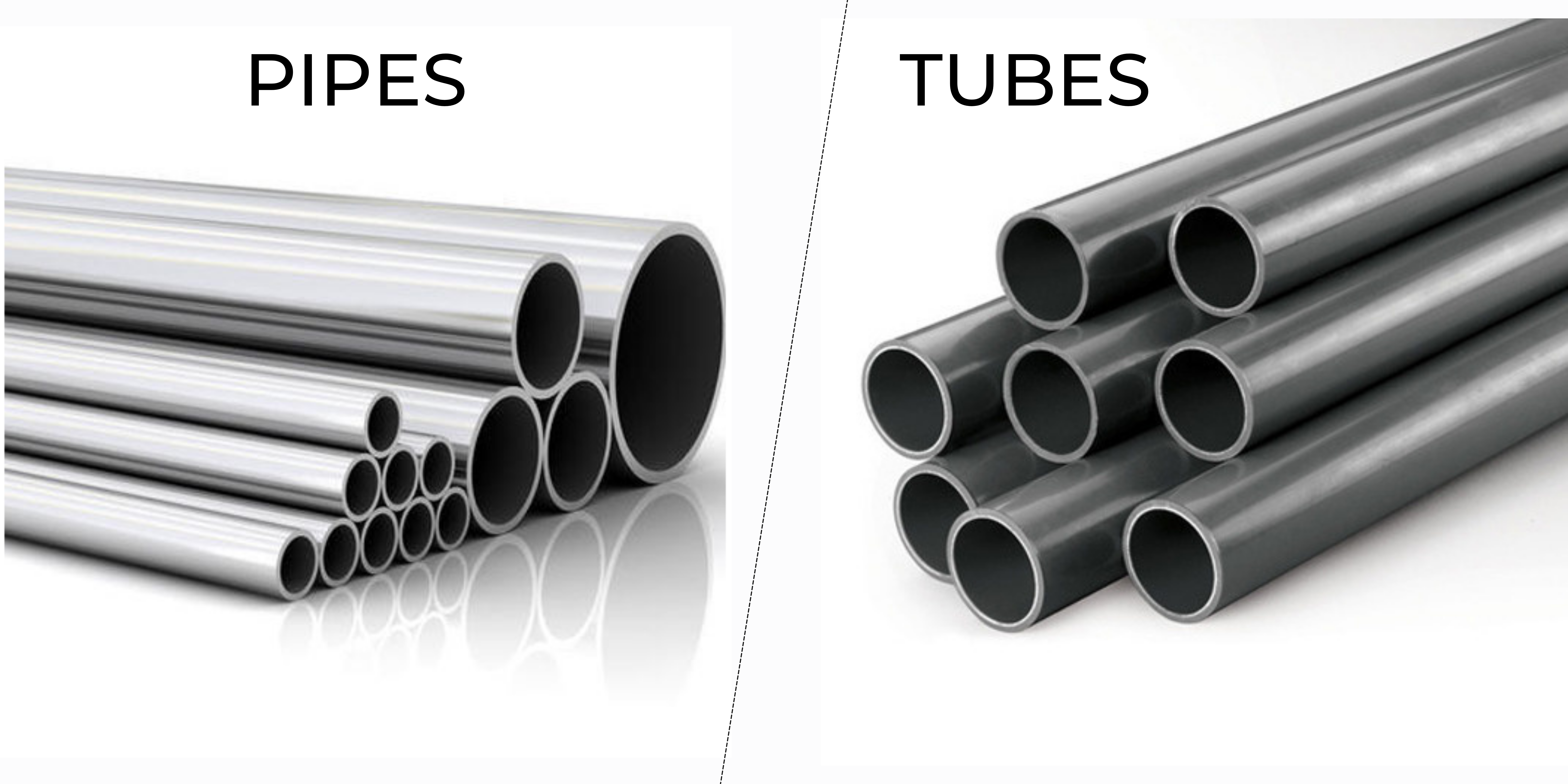 Differences between Steel Tubes and Steel Pipes